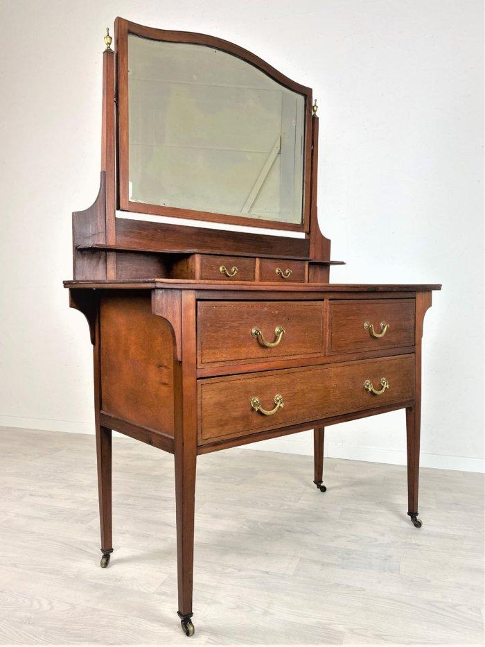 Antike Spiegelkommode, Schminktisch 1880