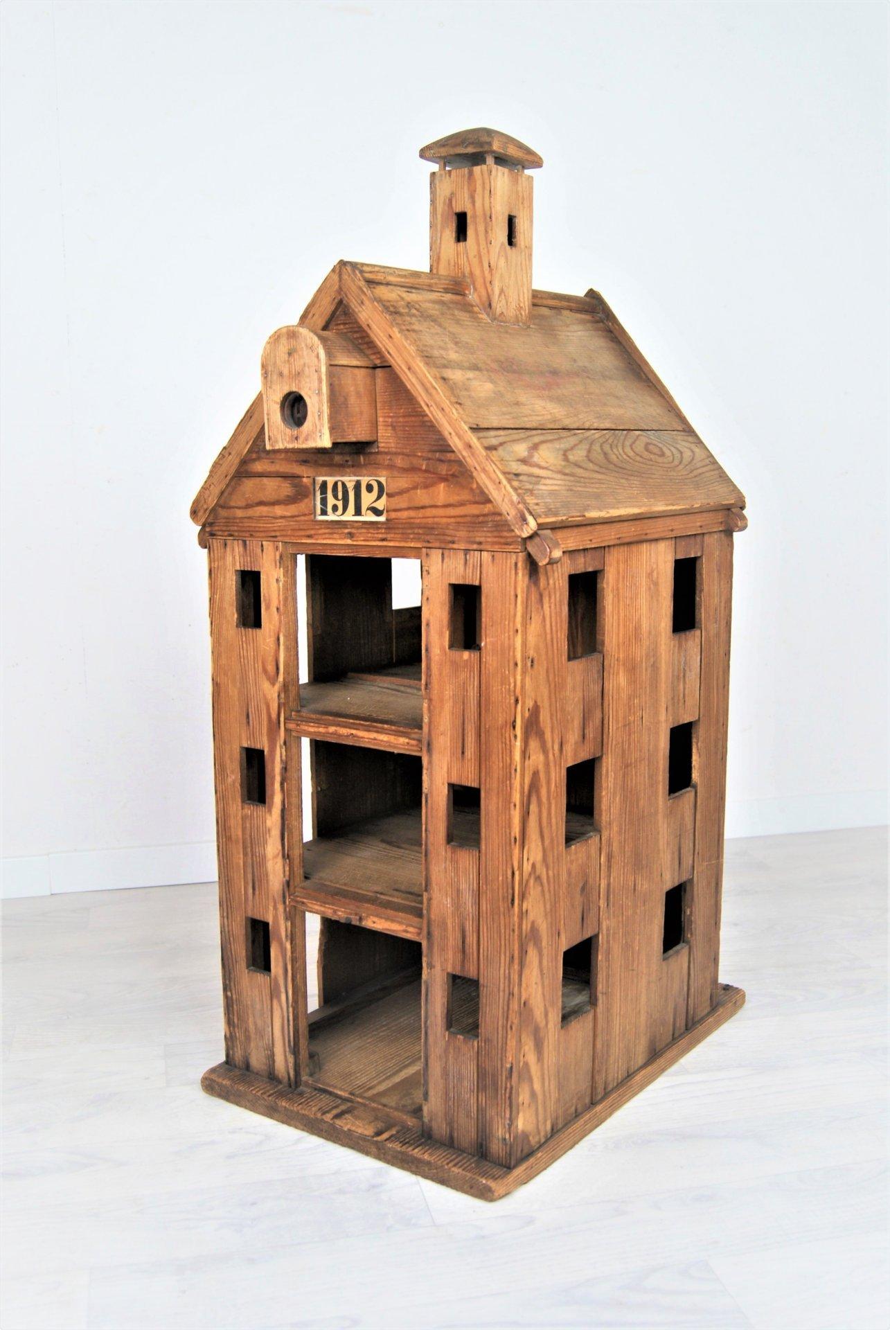 Antikes Modell von 1912, Hamburger Speicherhaus